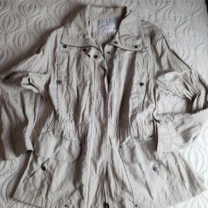 Coldwater Creek lightweight jacket 18